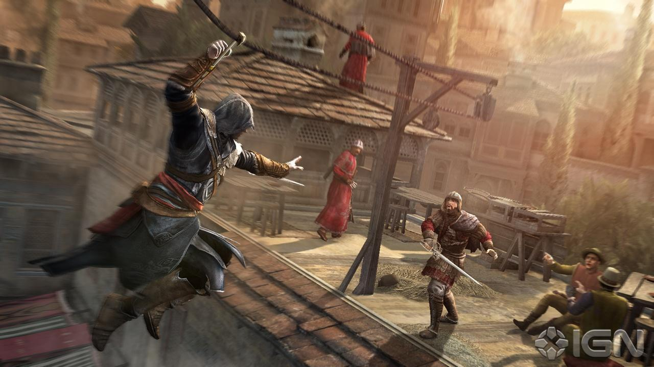 Assassin's Creed Revelations Death Match (Off-Screen)