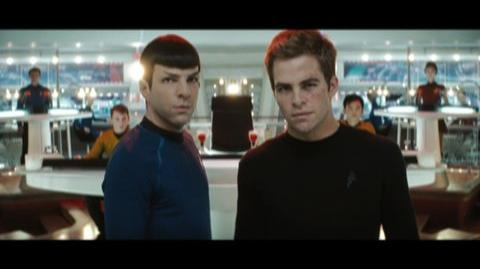 Star Trek (2009) - Theatrical trailer for prequel to classic sci-fi series