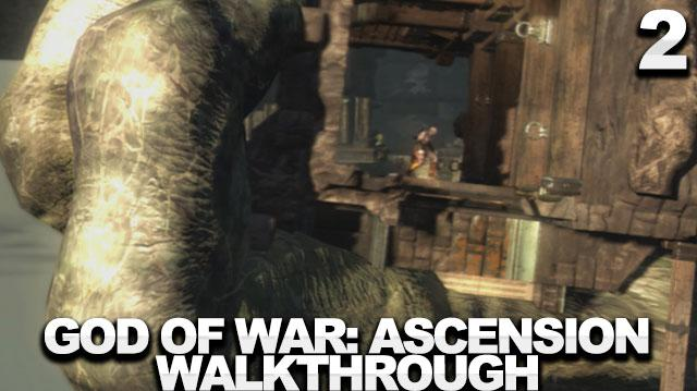 God of War Ascension Walkthrough Part 2 - The Sewer