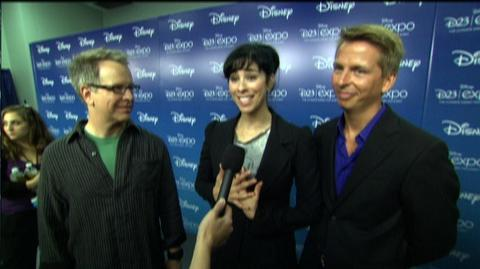 "Wreck-It Ralph (2012) - Interview ""Rich Moore, Sarah Silverman and Jack McBrayer on D23"""