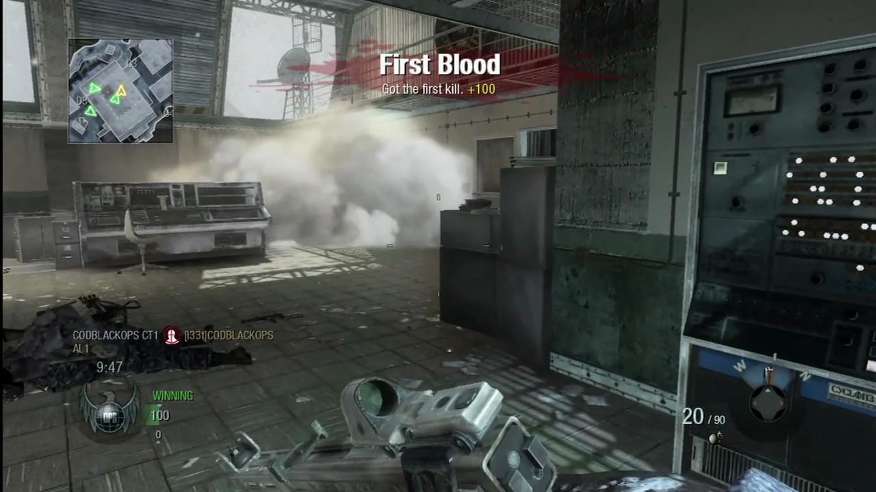 Call of Duty Black Ops Summit Gameplay Clip