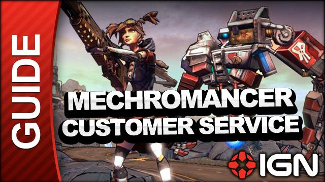 Borderlands 2 Mechromancer Walkthrough - Customer Service - Side Mission