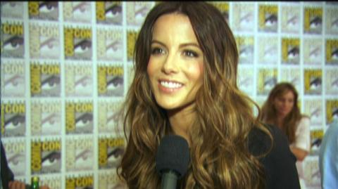 "Underworld Awakening (2012) - Interview ""Kate Beckinsale On The Fans"""
