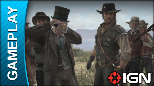Red Dead Redemption - The Assault on Fort Mercer - Gameplay