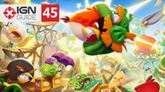 Angry Birds 2 - 3 Star Walkthrough Eggchanted Woods (Level 45)