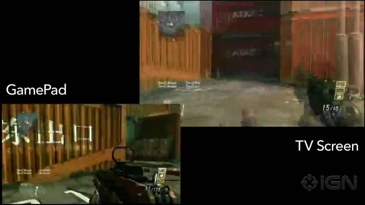 Call of Duty Black Ops 2 Wii U Multiplayer Demo