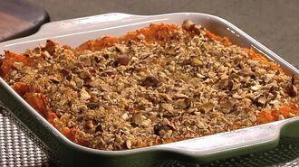 How to make a healthy sweet potato casserole