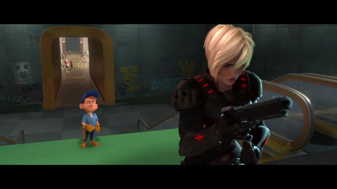 Wreck It Ralph Clip - Felix and Calhoun Team Up