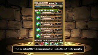 Puzzle and Dragons - Magic Stones
