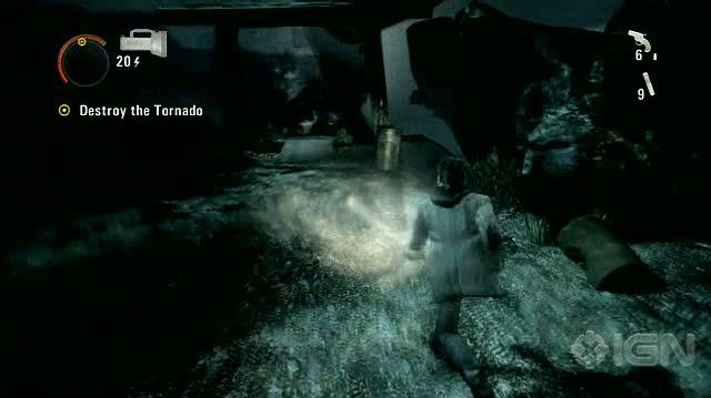 Alan Wake X360 - Walkthrough - Alan Wake - Nightmare Difficulty - Episode 6 - Tornado of Doom