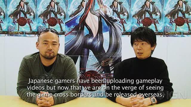 Bayonetta Xbox 360 Interview - Developers Interview