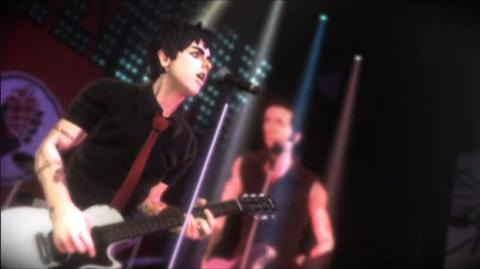 Green Day Rock Band (VG) (2010) - American Idiot trailer