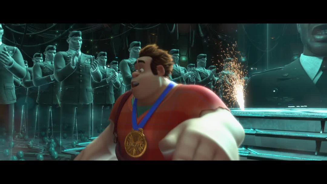 Wreck It Ralph Clip - Universes Greatest Hero