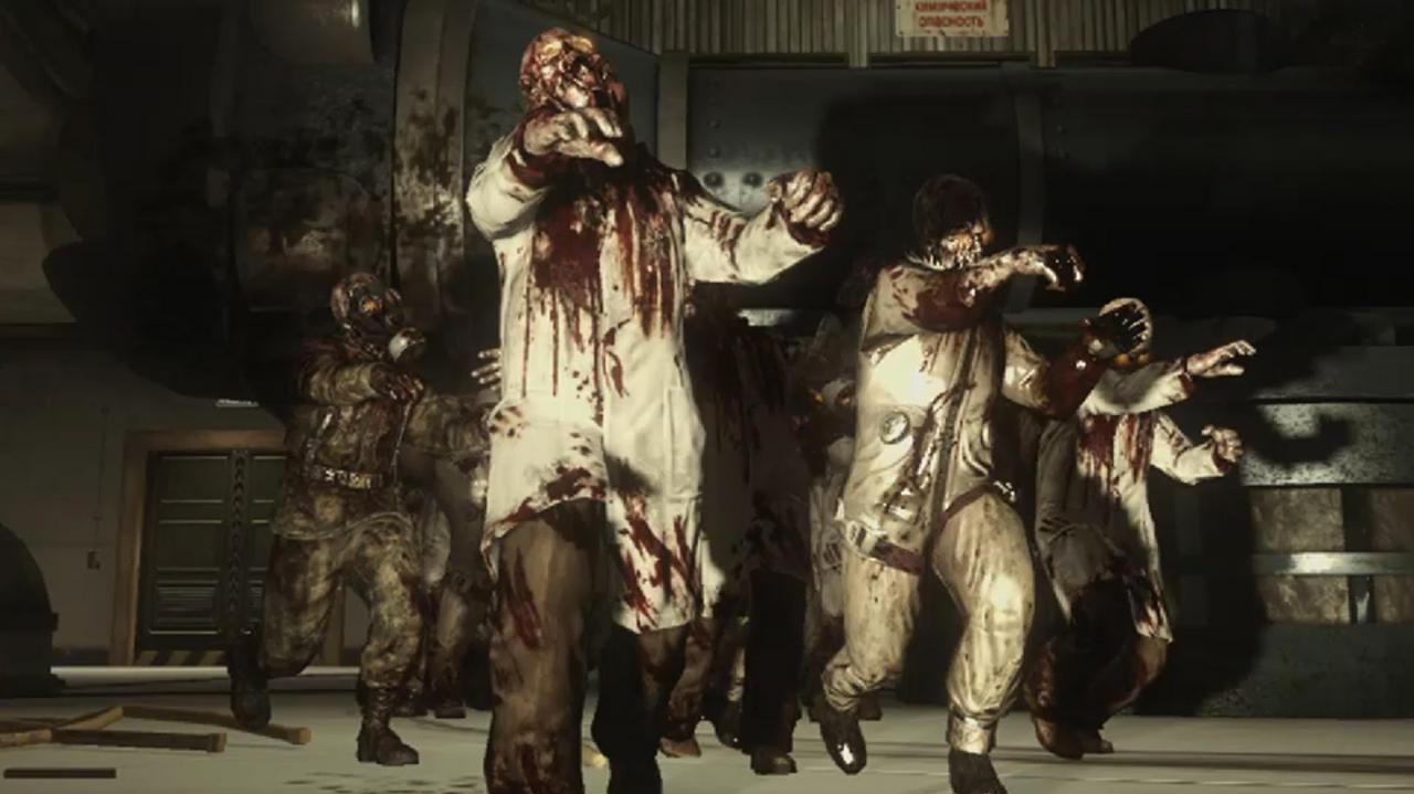 Call of Duty Black Ops Rezurrection - Zombie Lab