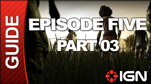 **SPOILERS** The Walking Dead Episode 5 No Time Left Walkthrough - Chapter 2 Gone The Seige