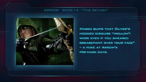 "Arrow S03E14 - ""The Return"" Fan Brain"