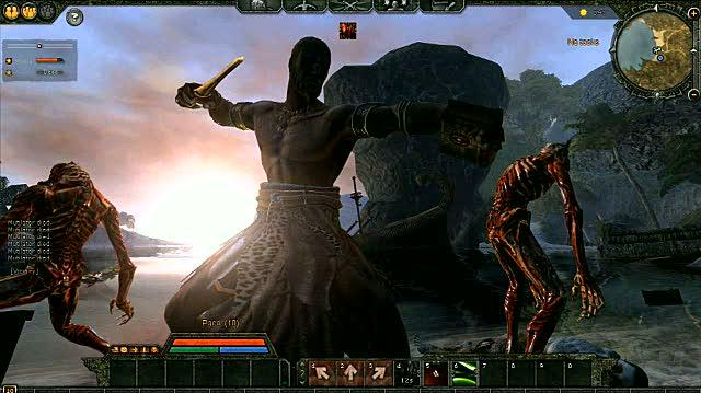 Age of Conan Hyborian Adventures PC Games Feature-Commentary - Combat Tutorial