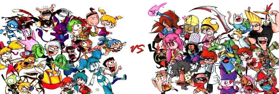 Nickelodeon & Cartoon Network All Star Battle | Video Game ...
