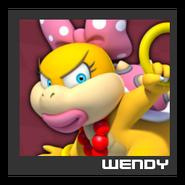 ACL Mario Kart 9 character box - Wendy O. Koopa