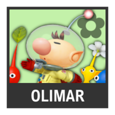 Super Smash Bros. Strife character box - Olimar