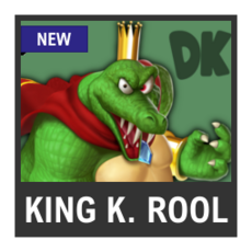 Super Smash Bros. Strife character box - King K. Rool