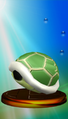Green Shell Trophy Melee
