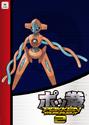 Pokken Tournament 2 amiibo card - Deoxys
