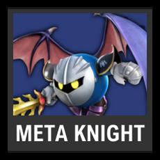 Super Smash Bros. Strife character box - Meta Knight