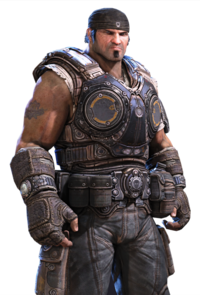 Gears of War 3 Personajes COG Marcus Fenix V2