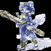 Krystal Artwork 1 - Star Fox Adventures