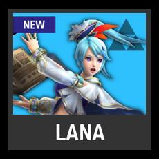 Super Smash Bros. Strife character box - Lana