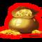 Super Smash Bros. 4 prize sprite-Gold