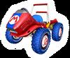 Brawl Sticker Red Fire (Mario Kart DD!!)