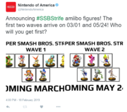 SSBStrife amiibo announcement