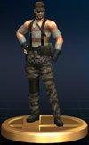 Naked Snake - Brawl Trophy