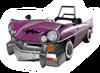 Brawl Sticker Wario Car (Mario Kart DD!!)