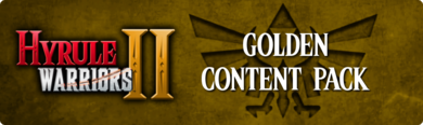 Hyrule Warriors II - Golden Content Pack