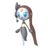 Super Smash Bros. Strife recolour - Meloetta-Aria 8