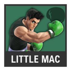 Super Smash Bros. Strife character box - Little Mac