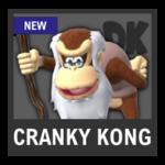 Super Smash Bros. Strife Assist box - Cranky Kong