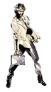 Brawl Sticker Otacon (MGS2 Sons of Liberty)