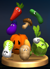 Vegetables - Brawl Trophy