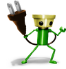 Super Smash Bros. Strife recolour - Chibi-Robo 3