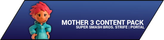 Super Smash Bros. Strife portal image - Mother 3 DLC