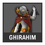 Super Smash Bros. Strife Assist box - Ghirahim