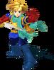 Super Smash Bros. Strife recolour - Isaac 7