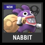 Super Smash Bros. Strife Assist box - Nabbit