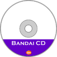 Bandai CD CDR Art Transparent (HQ)
