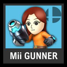 Super Smash Bros. Strife character box - Mii Gunner
