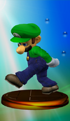 Luigi Trophy (Smash) melee